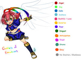 Contest Entry: Goddess of Emotion by cyandreamer