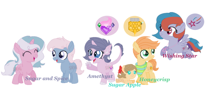 The young siblings by SuperRosey16