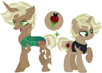 Prince Rotting Core and Candy Apple by SuperRosey16