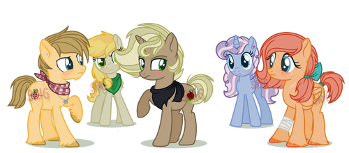 Apples meeting by SuperRosey16