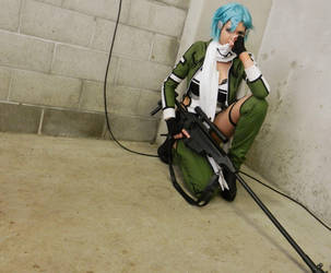 Sinon by Personified-Insanity