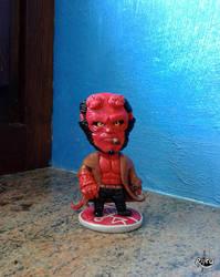 Hellboy by r0ra