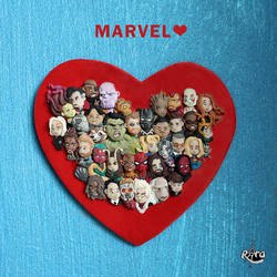 MARVEL by r0ra
