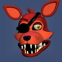 Rockstar Foxy V2 WIP by withefoxybr