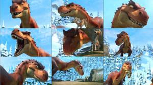 Iceage-Dinosaur by GiuseppeDiRosso