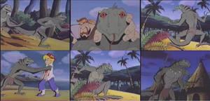 Mightymax-Lizardman by GiuseppeDiRosso
