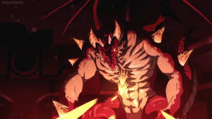 Monster Strike-Fire Wyrm by GiuseppeDiRosso