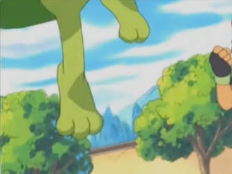 Pokemon Advanced Generation-Treecko Feet 2 by GiuseppeDiRosso