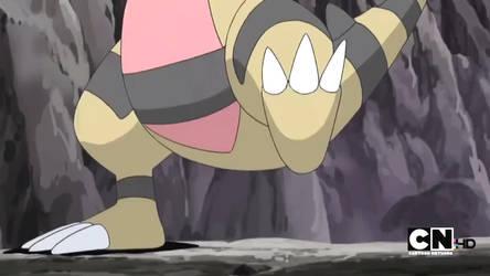 Pokemon BW-Krokorok Feet by GiuseppeDiRosso