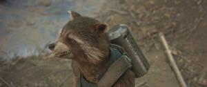Guardians of the Galaxy Vol 2-Rocket Raccoon 18 by GiuseppeDiRosso