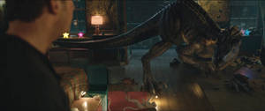 Jurassic World Fallen Kingdom-Indoraptor 14 by GiuseppeDiRosso