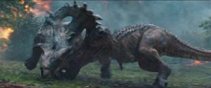 Carnotaurus Sinoceratops by GiuseppeDiRosso
