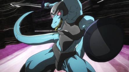 Sword Art Online-Lizardman Lord 1 by GiuseppeDiRosso