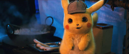 Pokemon Detective Pikachu-Pikachu 2 by GiuseppeDiRosso