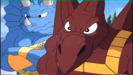 Episode 5 Raptoroid Bullzeye Spike by GiuseppeDiRosso