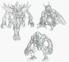 Random Monsters, Plox 8U by Horoko