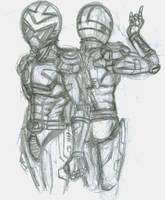 Justman Sketch - Frnt and Bk by Horoko