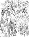 Duelist Kingdom2 - WIP Sketch by Horoko