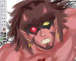 Monster WIP by Horoko
