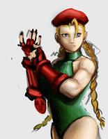 Cammy Sketch by Horoko