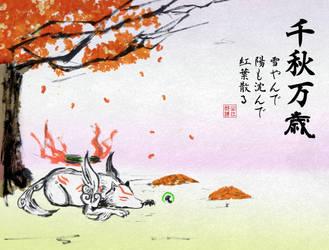 Long Live a Bountiful Fall (Senshu Banzai) by Horoko