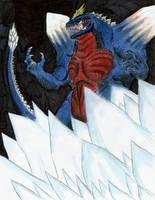 Space Godzilla by MonsterKingOfKarmen
