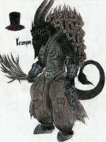 Krampus by MonsterKingOfKarmen