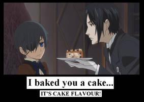 Sebastian Made You a Cake by MercyAntebellum