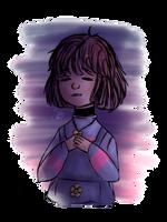 Lil Frisk | Colored sketch by omenarem