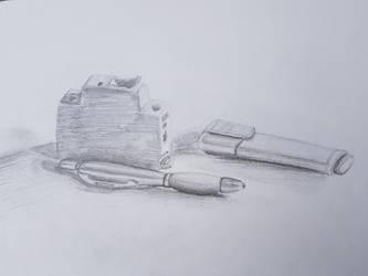 Breaker Pen Highlighter (Still Life) #1 by GREENCAT1337
