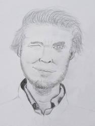Pewdiepie (Portrait) #1 by GREENCAT1337