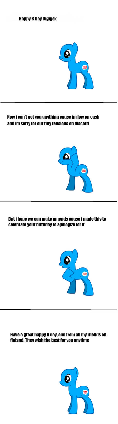 B Day Comic for digigex90 by J0Studios