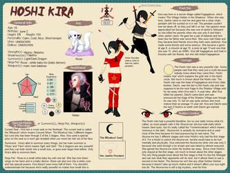 Kira Hoshi - Ninja Card by BlackCherryBlossom12