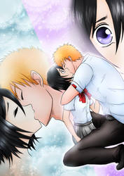 IchiRuki Kiss by RivaAnime