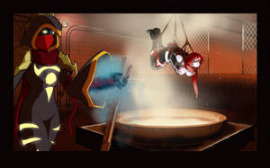 Commission - Smelting Peril! by HeartGear