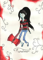 Marceline The Vampire Queen by owlmaddie