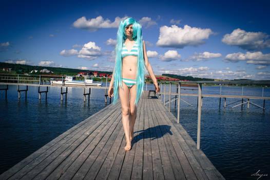 Hatsune Miku cosplay by Neka-chi