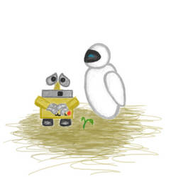Wall-e by Miss-Raccoon