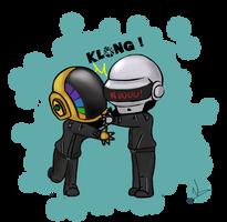 Daft hug by Nawalk
