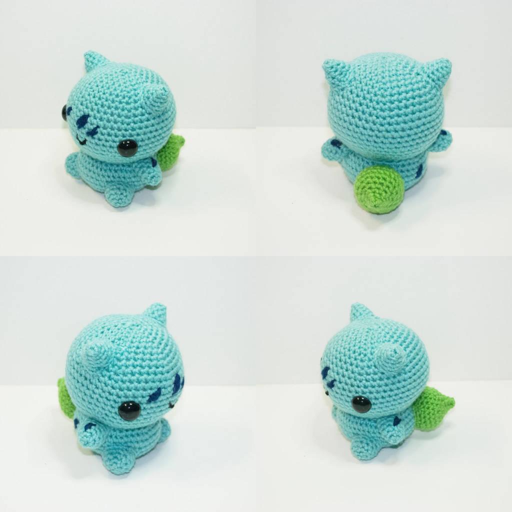 Bulbasaur by Heartstringcrochet