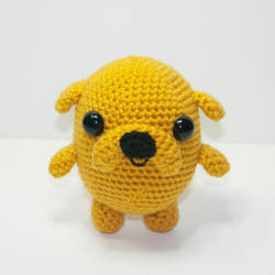 Jake The Dog by Heartstringcrochet