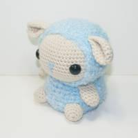 Bo the baby Sheep by Heartstringcrochet