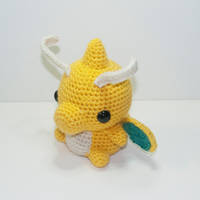Dragonite by Heartstringcrochet