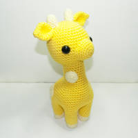 Baby Giraffe by Heartstringcrochet