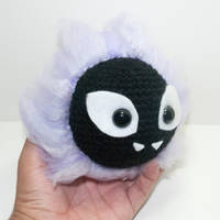 Gastly by Heartstringcrochet