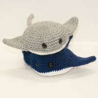 Baby Stingrays by Heartstringcrochet