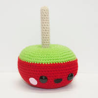 Candy Apple by Heartstringcrochet