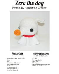 Zero Pattern By Heartstring Crochet by Heartstringcrochet