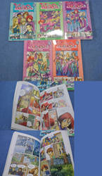 W.i.t.c.h. Graphic novels sale by negaistar