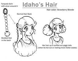 Idaho Hair by NikkoTakishima